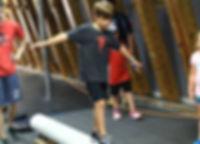 Ninja Warrior gym Kids Training iron sports