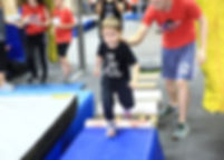 Ninja Warrio Kids birthday parties iron sports