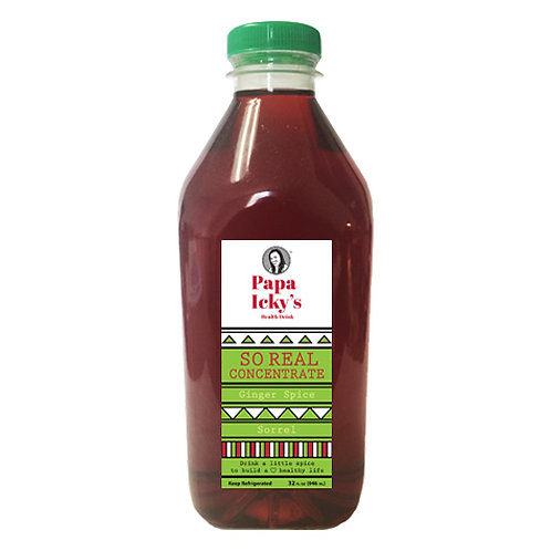 So Real Ginger Spice Sorrel Concentrate