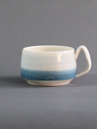 Short Mug 12oz - Blue Sea