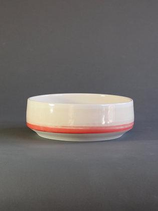 Serving Bowl : Coral & Peach