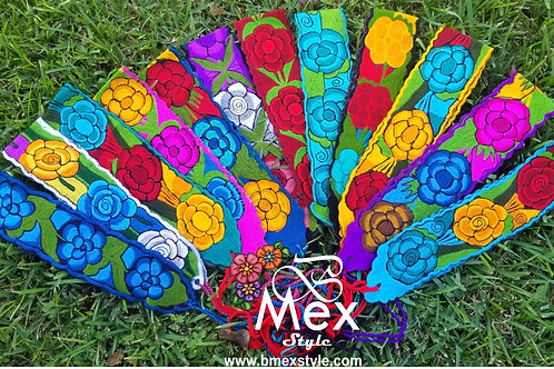 Embroidery Mexican Belt