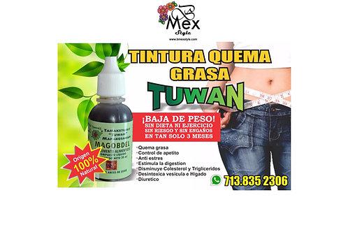 TUWAN TINTURA QUEMA GRASA