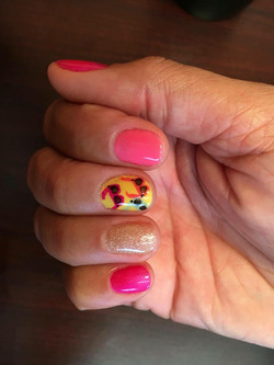 Summer Time Nail Art by Jesse