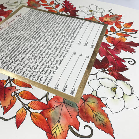 "Adapted version of ""Autumn Splendor"""