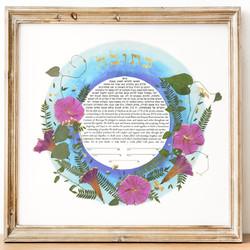 """""""Spring"""" (Pressed Flowers Print)"""
