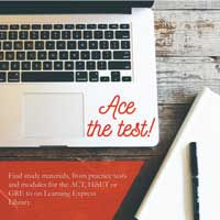 Learning-Express-Library ace the test.jp