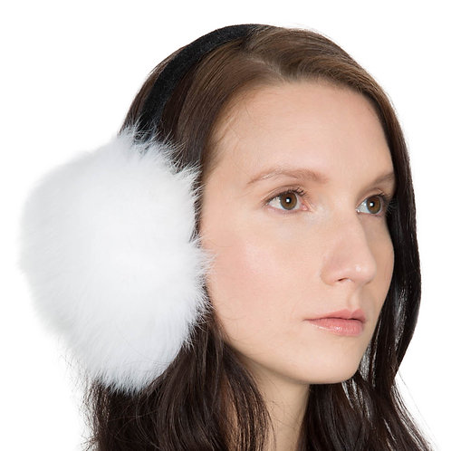 OBURLA Genuine Fur Earmuffs