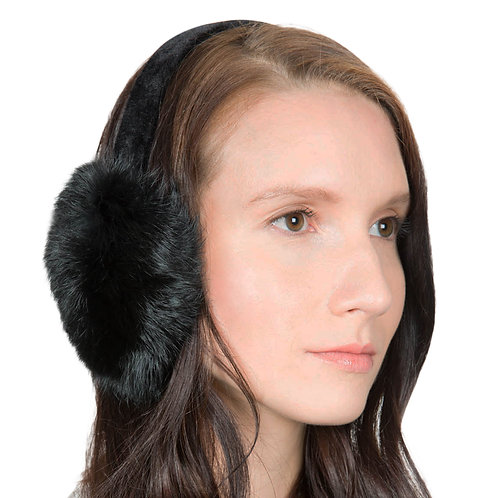 OBURLA Genuine Fur Earmuffs