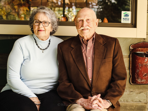 Fred and Mary Murray are recipients of the 2020 Ben Franklin Service Award