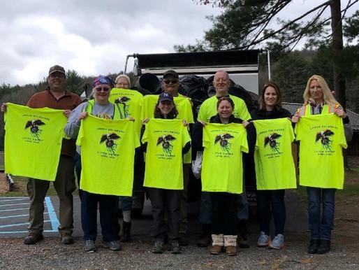 Donations support Upper Delaware litter sweep