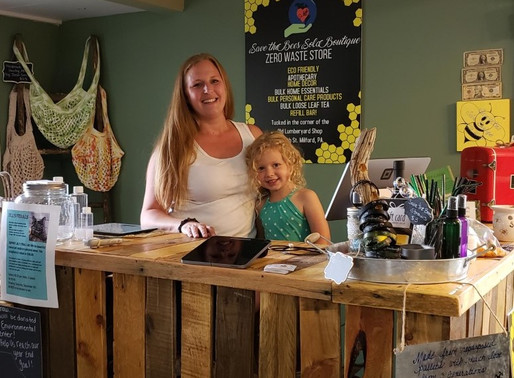 Save the Bees Sola Boutique opened in Milford