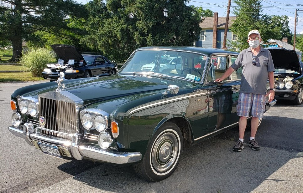 Bob Burrow stands near his 1967 Rolls Royce. Lifestyles photo by Katie Collins.
