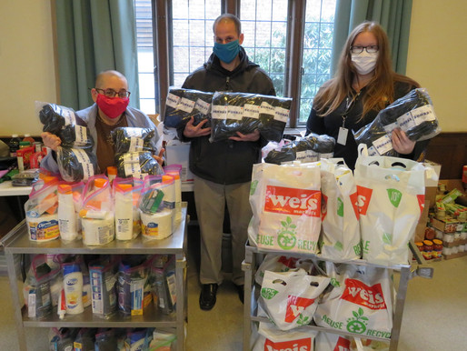 System of Care passes Bombas sock donation to local church