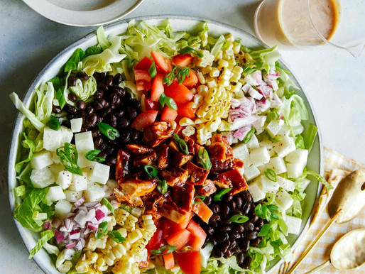 Loaded BBQ Chicken Salad