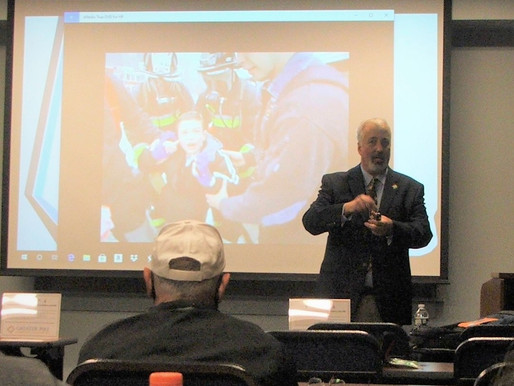 PASS hosted safety training for first responders