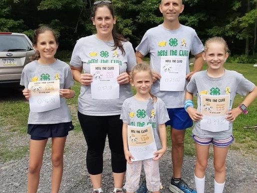 Virtual Herd the Curd Race raised $8,000 for the Michael J. Bryant Memorial Fund
