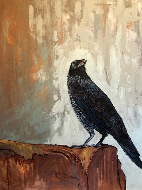 "36"" X 48"" ORIGINAL ""The Raven"", 2021"