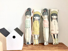 poupées Coussines, Nélia-Illustration