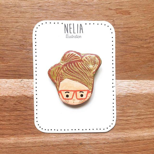 Broche du jour , bonjour! _#nelia #nelia