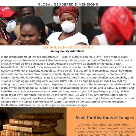 Summer 2020 Newsletter: Reflections on the coronavirus