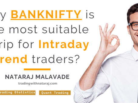 Why #BANKNIFTY is the most suitable scrip for Intraday trend traders? |Momentum Trading in BANKNIFTY