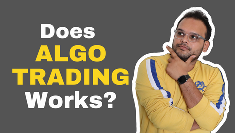 Does ALGO TRADING Works? | What is ALGO TRADING in India?