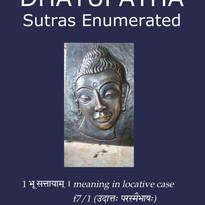 Dhatupatha_Sutras Enumerated