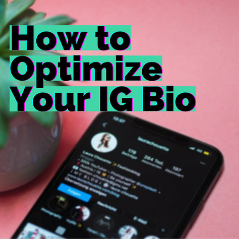 How to Optimize Your Bio