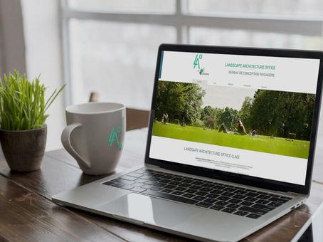 Un nouveau Site pour Lao by Vision Canopée