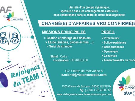 Rejoignez la Team Vision Canopée, on recrute !