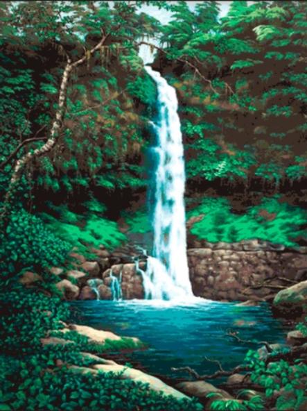 Cascada Laguna Azul