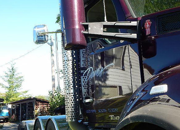 Kenworth W990 Oversize Load Mirror Extension Bracket