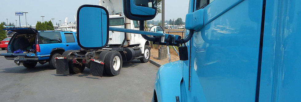 Freightliner- Oversize Load Mirror Extension Bracket