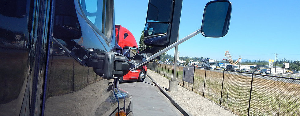 Freightliner Cascadia Oversize Load Mirror Extension Bracket