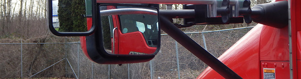 Kenworth T660 Oversize Load Mirror Extension Bracket