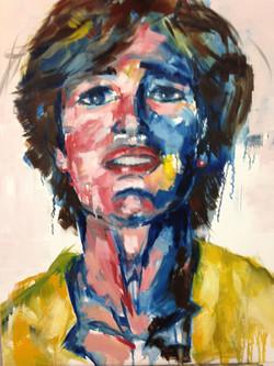 zelfportret 2013, 80-100cm