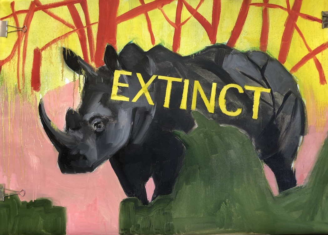 Westelijke zwarte neushoorn