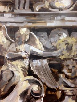 detail Carolus Borremeus, 80-100cm