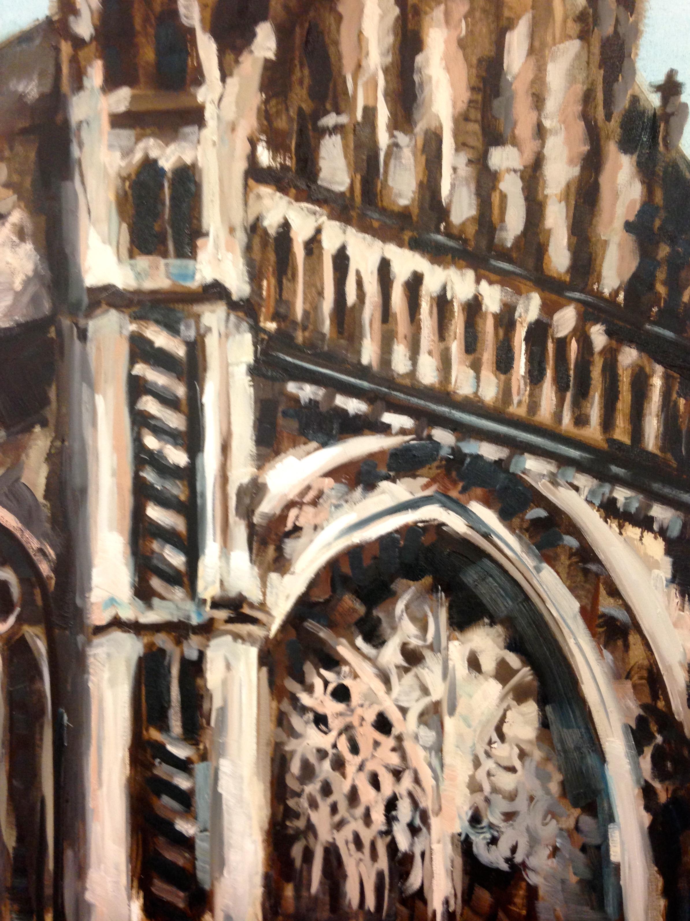 Kathedraal Den Bosch, 80-100cm