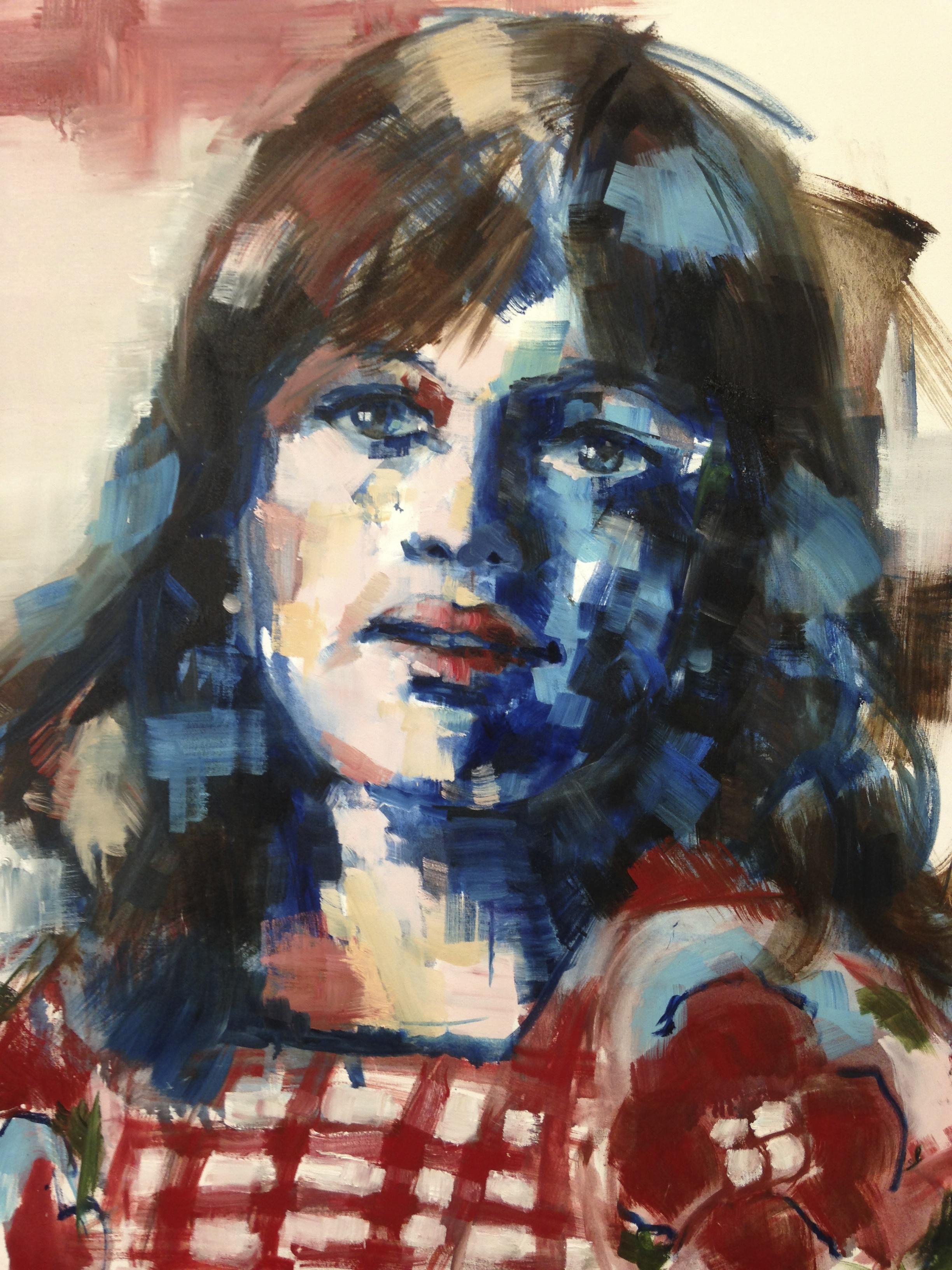 zelfportret 1975, 80-100cm
