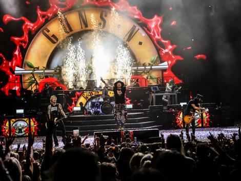 """""""El mejor show del año"""": Guns N' Roses en el Palacio Sultan"""