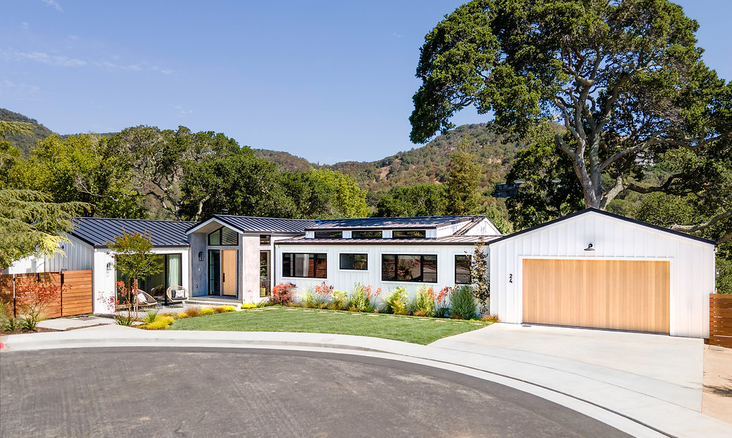 Design-Build Project in Peacock Gap, San Rafael. Working closely with the homeowners, we designed a space that would meet all their needs and maximize the potential of the beautiful space.   The build was done by G Family Construction, and the landscaping completed by G Landscape.