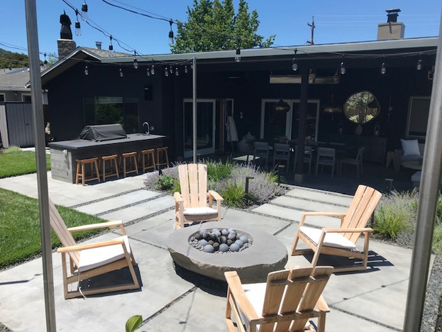 Modern Backyard Remodel