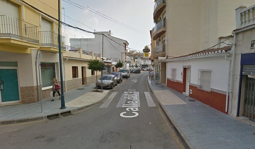 calle del Río Torre del Mar