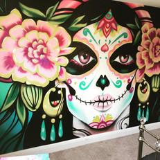 Day of the dead bedroom mural.jpg
