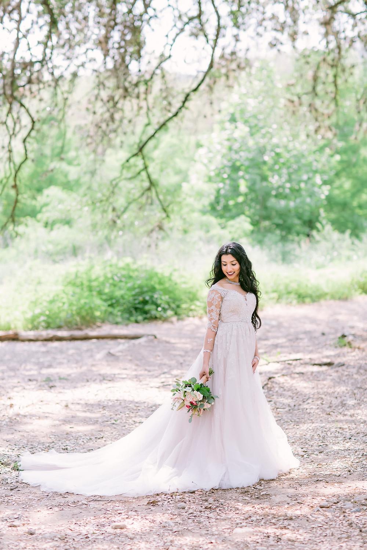 long sleeve wedding dress bride