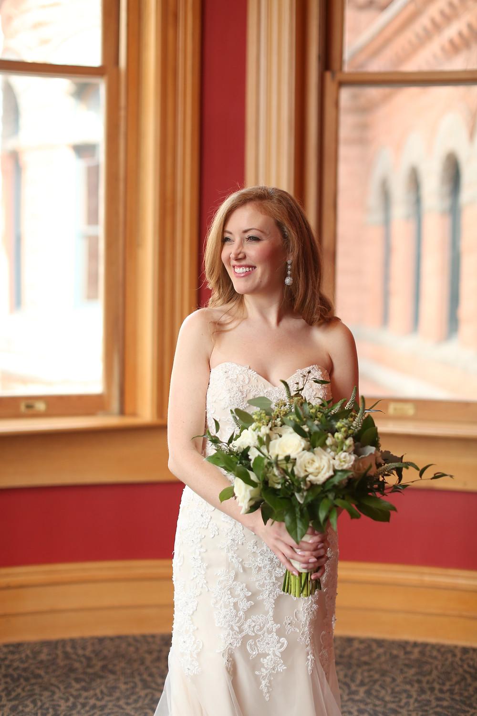 madeline gardner strapless wedding dress