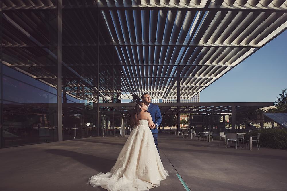 dallas ballgown wedding dress