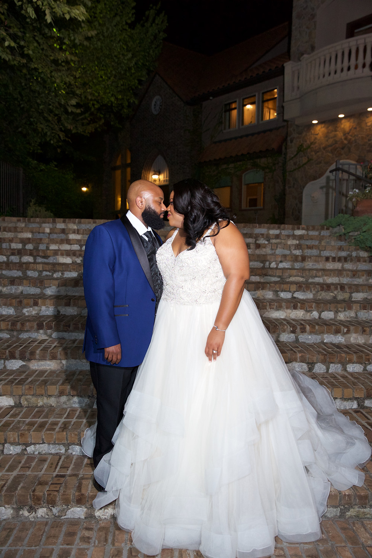 beaded a-line wedding dress
